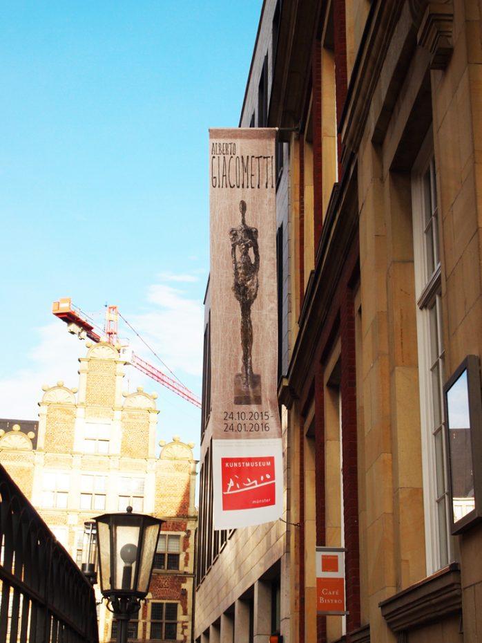 Tentoonstelling Alberto Giacomettin in het Kunstmuseum Pablo Picasso