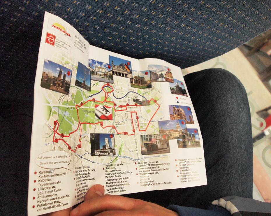 Toeristische tour door Berlijn