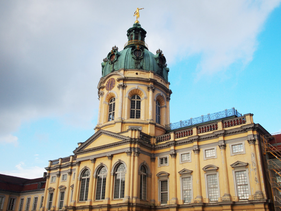 Entree Schloss Charlottenburg