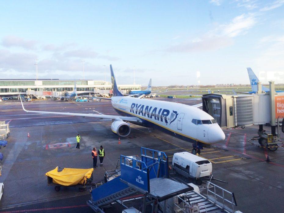 Goedkoop vliegen met Ryanair vanaf Amsterdam!