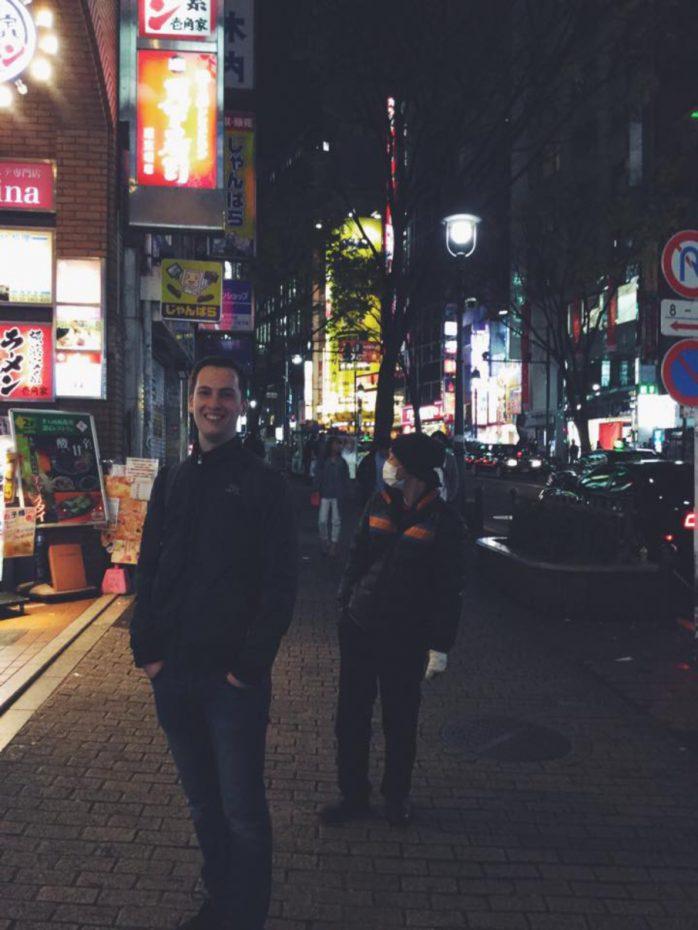 Ik in Japan - Einde van mijn mooie reis door Japan
