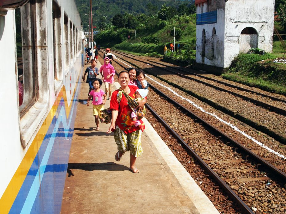 Treinreis Jogjakarta naar Bandung