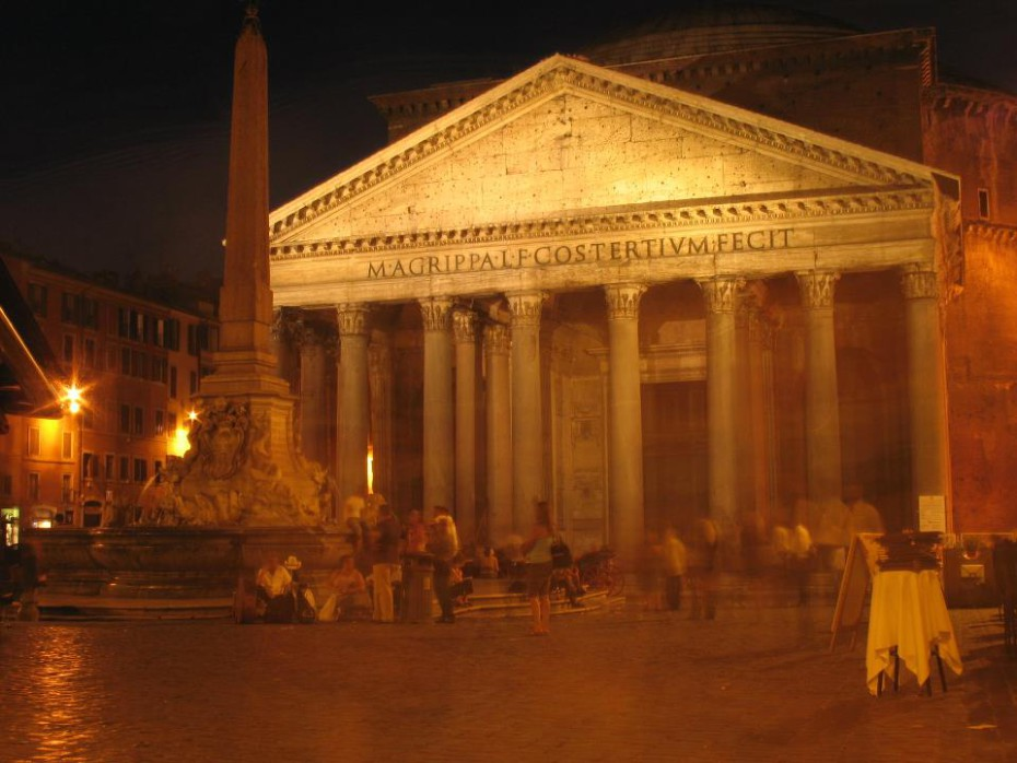 Pantheon - Rome by night