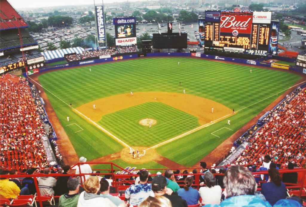 Honkbalwedstrijd New York Metz!