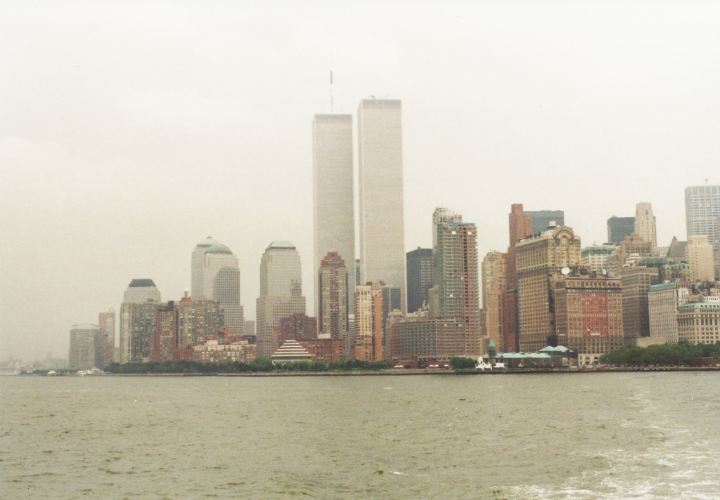 De Twin Towers in 2001