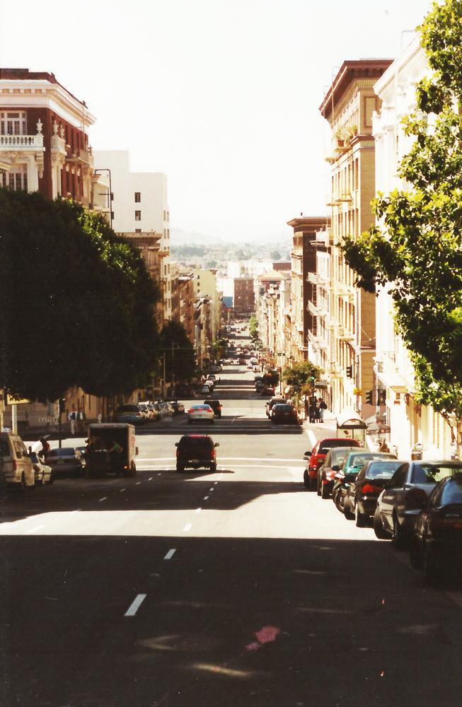 Straat in San Francisco!