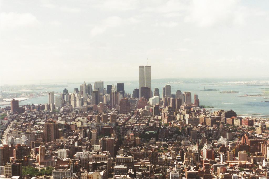 Uitzicht op New York city vanaf Empire State Building!