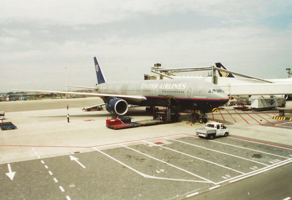 Vliegen met United Airlines!