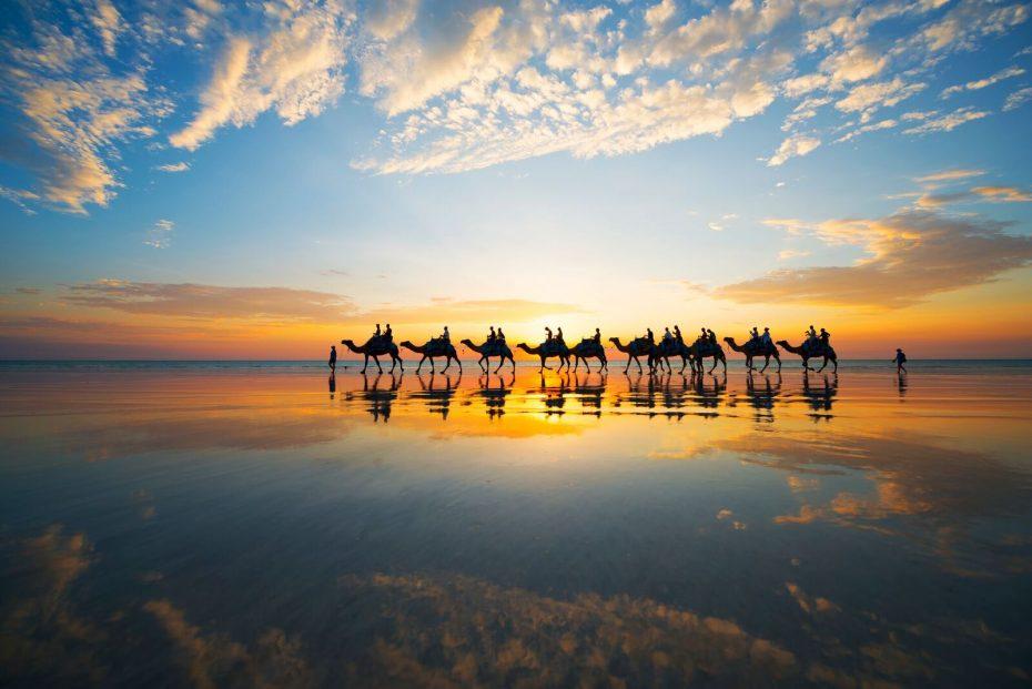 Broome Camel Safari's - Australia