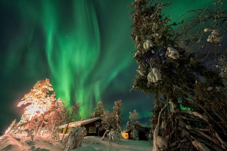 Northern light, Finland