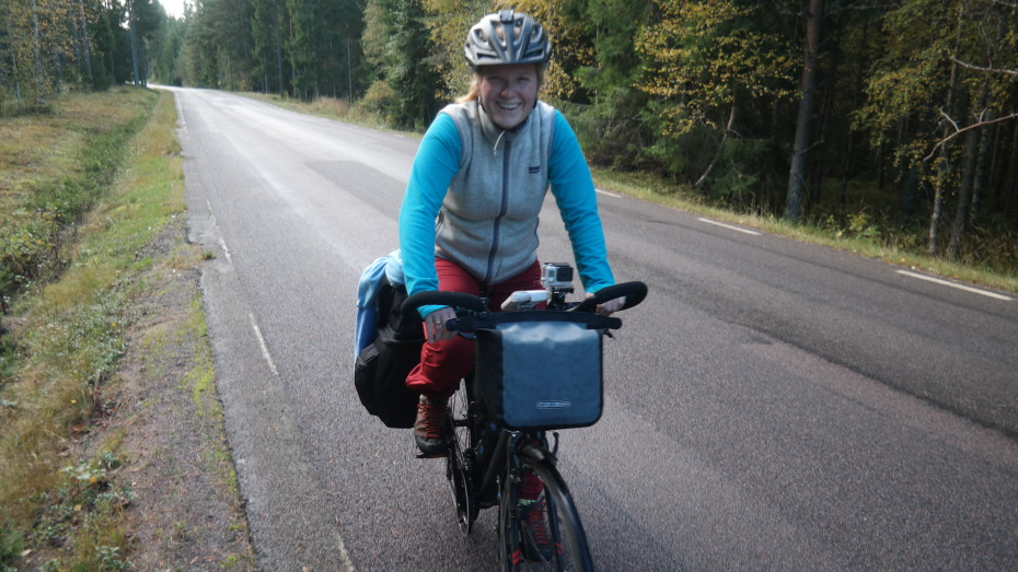 """""""fietsvakantie is leuk hoor! Zelfs met klimmetjes..."""""""