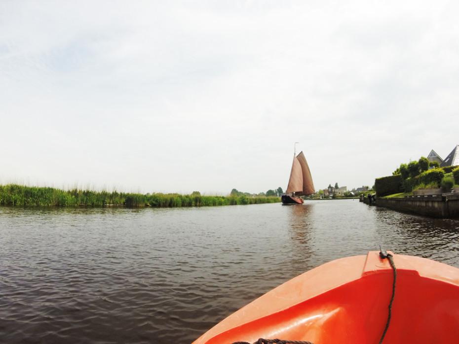 Heerlijk varen in Friesland!