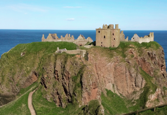 Dunnottar Castle - Schotland!