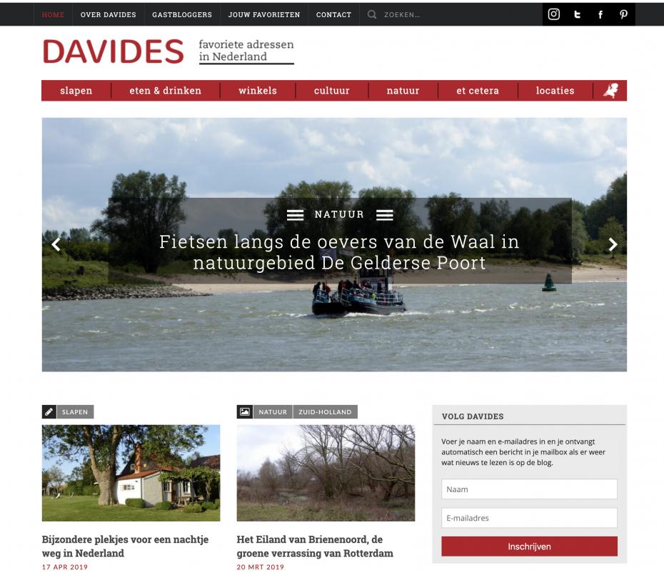 Davides reisblog