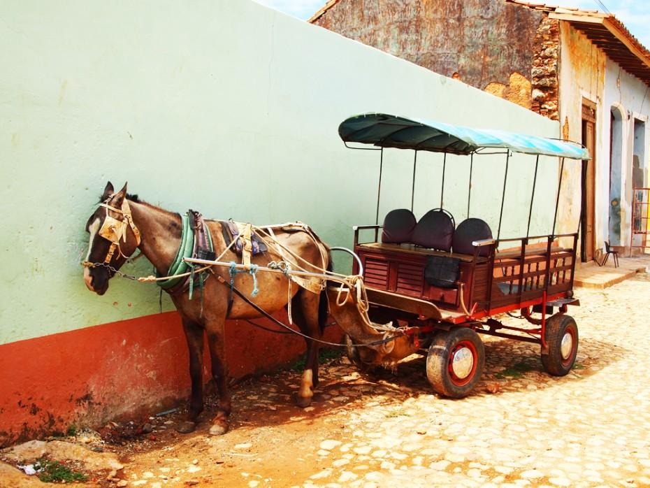 Sfeerfoto Trinidad in Cuba