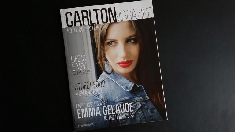 Reporters Marloes & Jesper van Liefde voor Reizen werden geinterviewd voor het Carlton Hotel Collection Magazine!