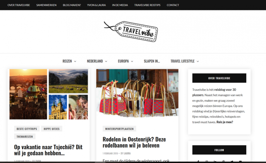 Travelvibe reisblog