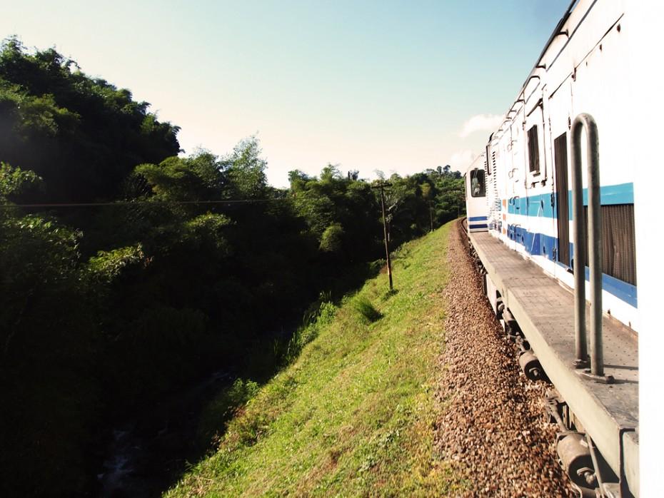 Treinreis van Bandung naar Kroya