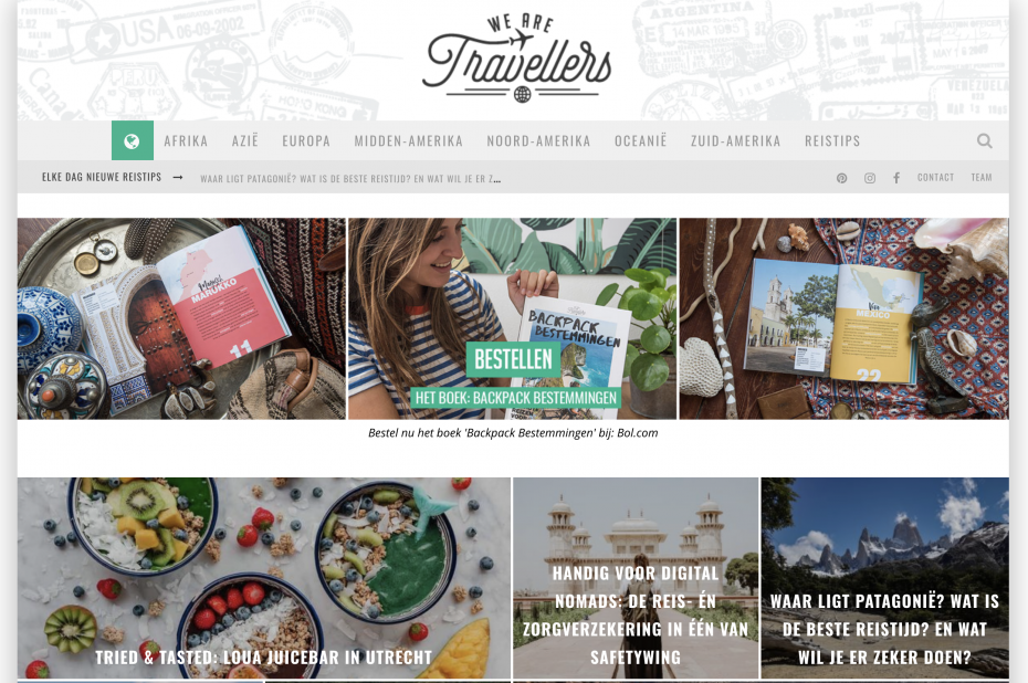 We Are Travellers - reisblog
