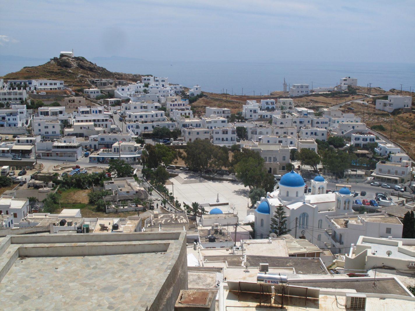 Onhandige situatie op een mooi klein Grieks eilandje
