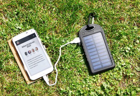 Review Solar Powerbank