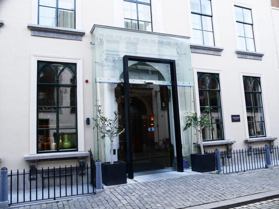 Entree Hotel Nassau in Breda