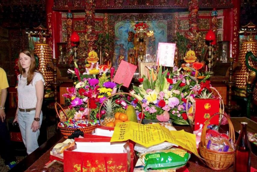 Tempelgemeenschap in Taiwan