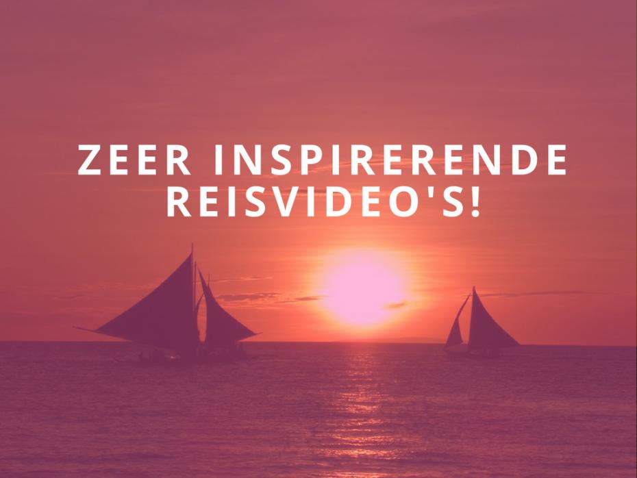 Laat je inspireren door andere reizigers. Hierbij 5 zeer inspirerende reisvideo's!
