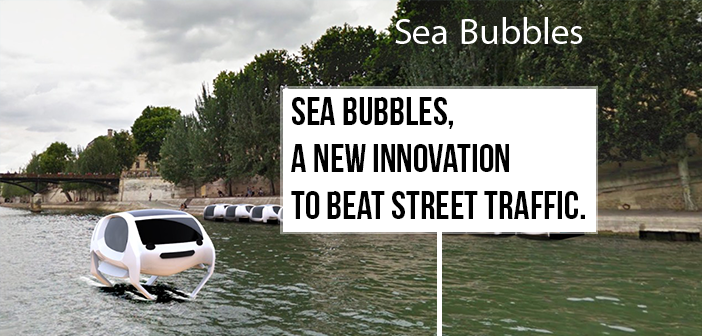 Sea Bubbles - Vliegende watertaxi's in Parijs!