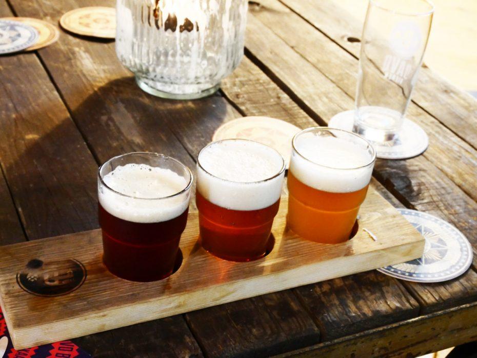 Bierproeverij bij Davo in Deventer