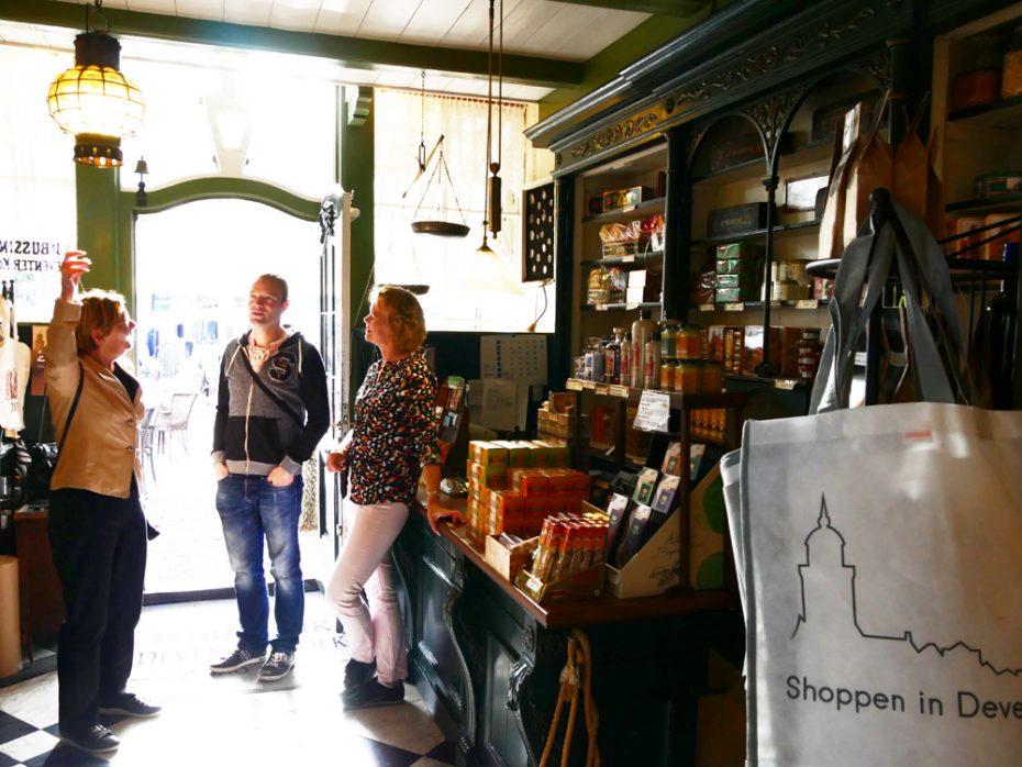 De Deventer Koekwinkel - Start van onze tour door Deventer!