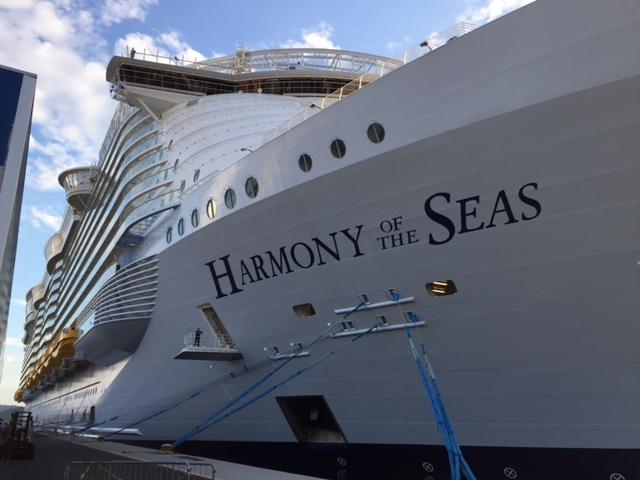 Harmony of the seas!