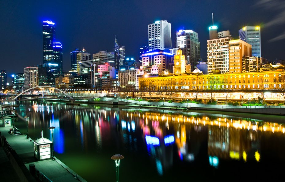 Melbourne by night (foto: Hai Linh Truong)