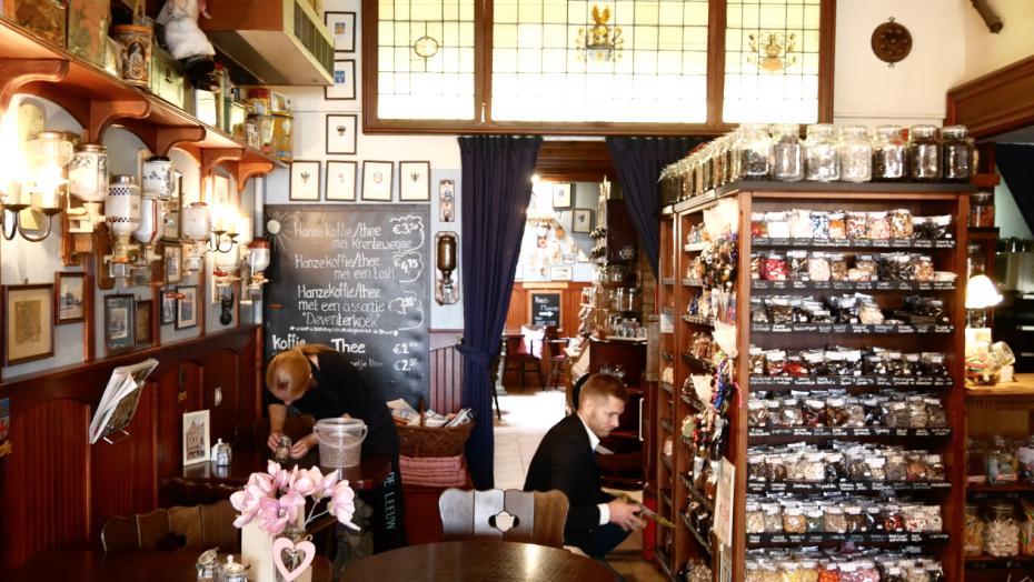 Snoepwinkel van Hotel De Leeuw!