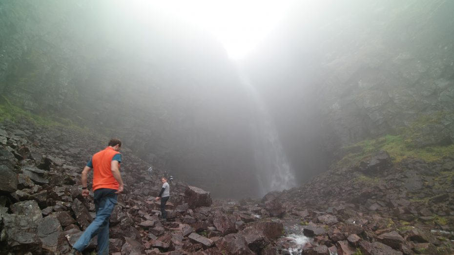 Njupeskär waterval