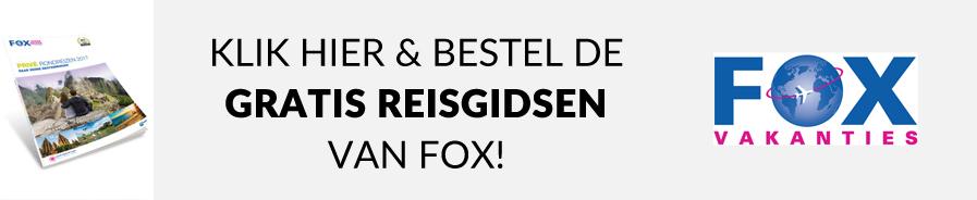 Bestel de gratis reisgidsen van Fox voor 2017 nu! En laat je inspireren voor je volgende reis!