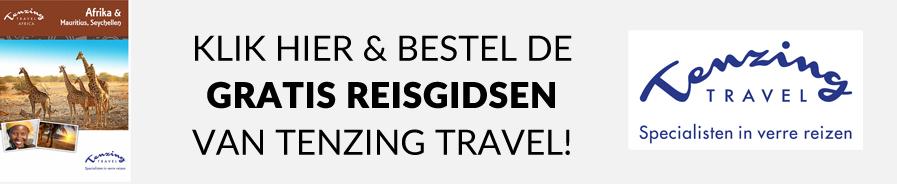 Bestel de gratis reisgidsen van Tenzing Travel voor 2017 nu! En laat je inspireren voor je volgende reis!