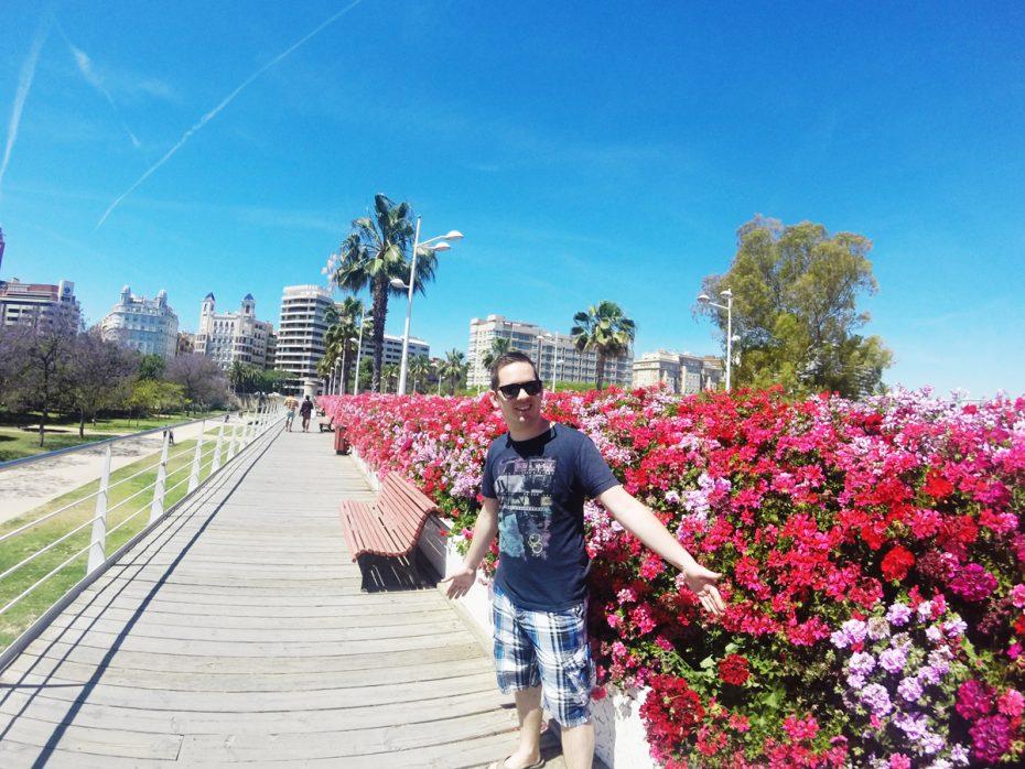 In Valencia, Spanje