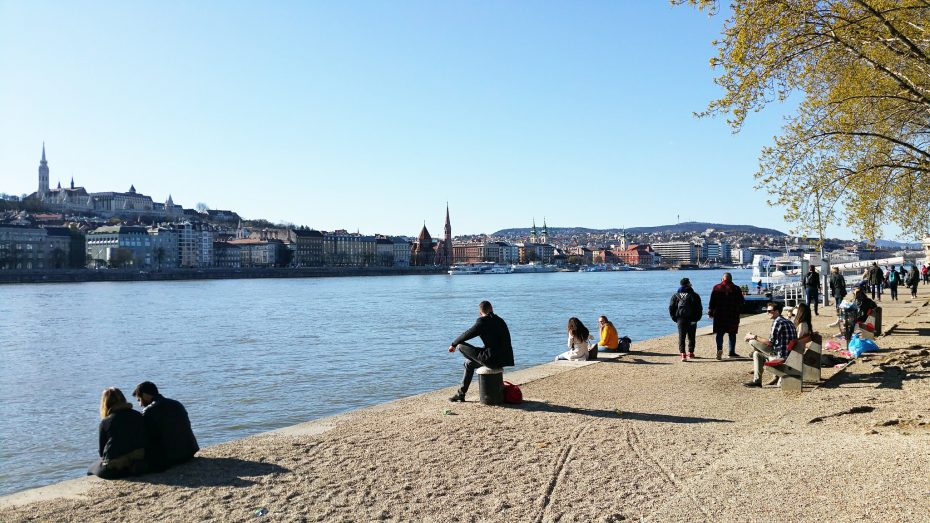 Relaxte sfeer langs de Donau!