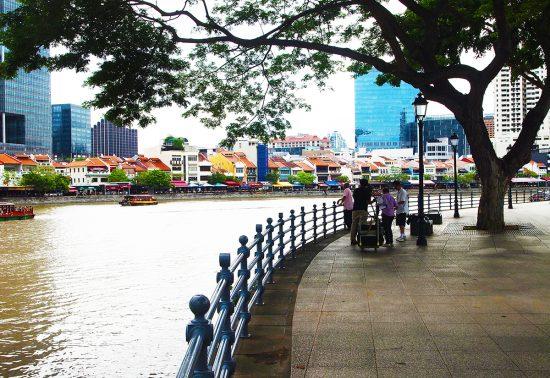 Schone straten in Singapore!