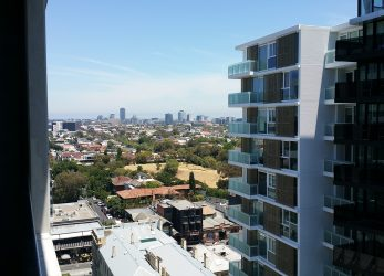 Uitzicht vanaf het balkon - District South Yarra