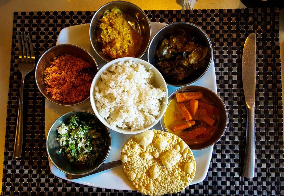Lekker eten in Sri Lanka!