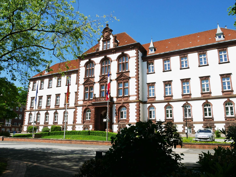 Mooie stad Kiel - Ministerie van justitie