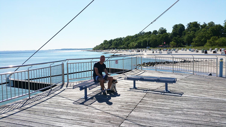 Prachtige pier met geweldig uitzicht over de mooie stranden!
