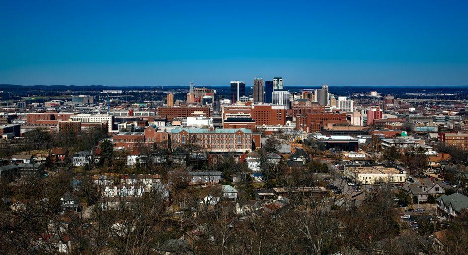 Uitzicht over de stad!