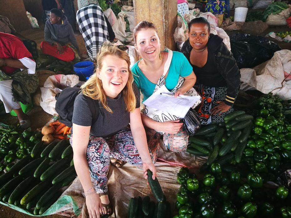 De lokale markt!
