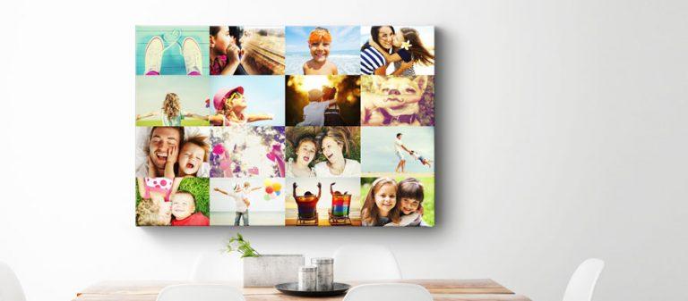Maak van je vakantiefoto's een mooie collage!