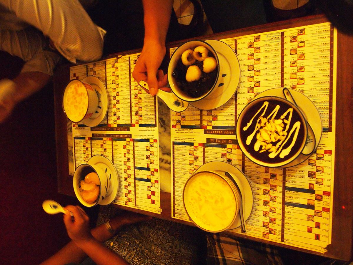 Typisch Singaporees dessert!