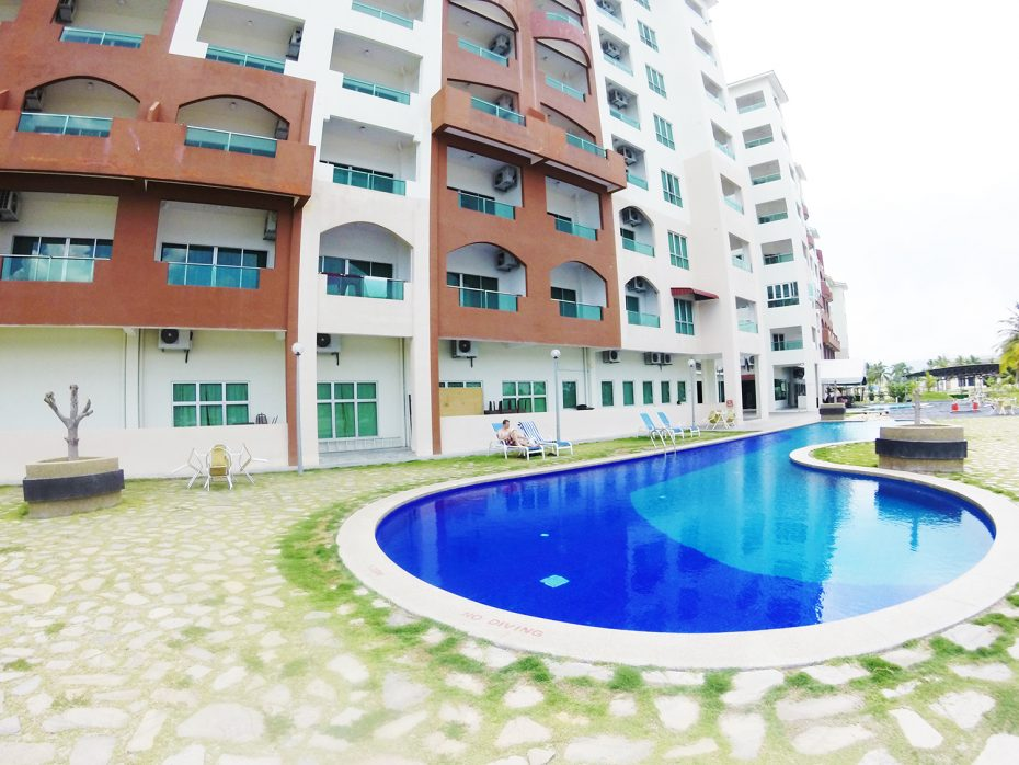 Best Western Hotel in Lumut met 'privé' zwembad!