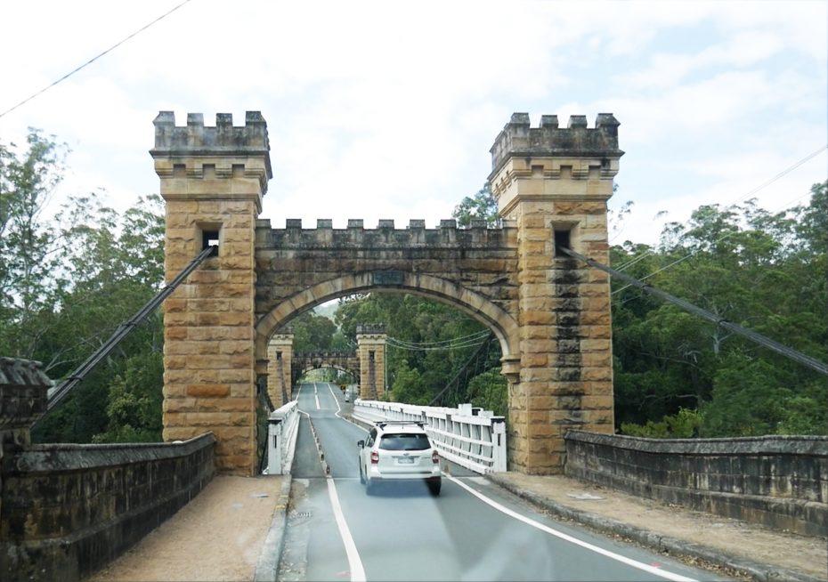 Onderweg naar Kangaroo Valley